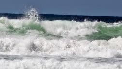 Huge Surf at Wickaninnish Beach